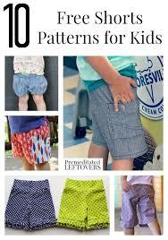 Boys Shorts Pattern