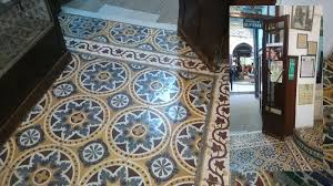 moroccan tiles in a