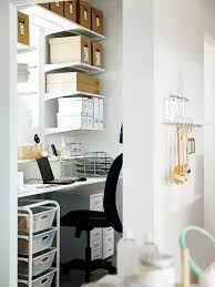 ikea office organization. ikea desk see more keep your back of house area organized and clutter free with algot shelving ikea office organization