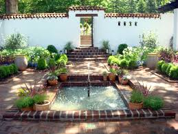 Small Picture Spanish Courtyard at Froh Heim Spanish courtyard Spanish and