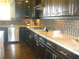 dark tile backsplash espresso kitchens kitchen loving the vertical subway  tile modern kitchen idea of joint