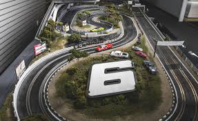 these are the world s most extravagant and realistic slot car tracks