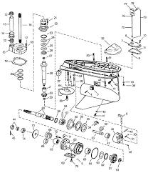 Omc Stern Drive Propeller Chart Omc Cobra Exploded View Gear Housing 1986 1993 Marine