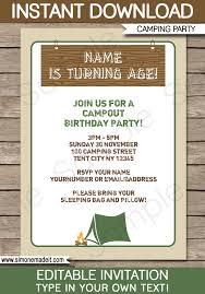 30th birthday invitations templates free elegant design free cing birthday party invitation templates idealstalist