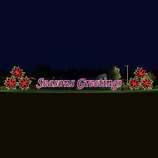 commercial light display