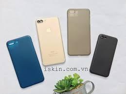 Ốp Lưng Iphone 7 Plus Memumi Siêu Mỏng Cao Cấp Chính Hãng Rất Đẹp – iSkin  Store