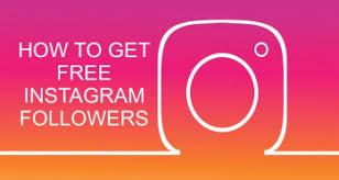 Free Followers Instagram Followers