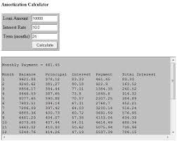 amortization calculator online online mortgage online mortgage amortization calculator