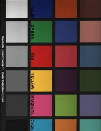 Impact Televideo Macbeth Color Chart
