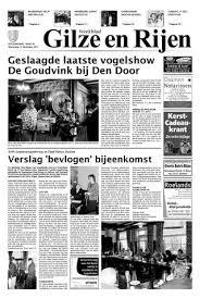 Gilze En Rijen B 12 12 2012 By Uitgeverij Em De Jong Issuu