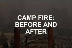 Trump Views Paradise Fire Devastation Promises To Take Care Of The