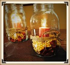 Fall Table Decorations With Mason Jars Diy Cheap And Easy Christmas Table Decor Google Search 18