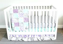 purple crib bedding set purple and grey crib bedding sets baby girl nursery bedding set lavender