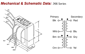 266j48 48vct 1a power transformer construction of transformer at Electrical Transformer Diagram