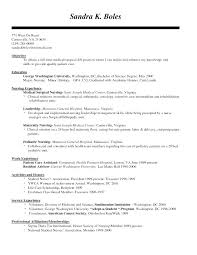 Med Surg Nurse Resume Objective And Cover Letter Medical Surgical