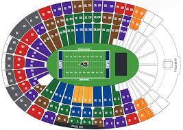 42 Matter Of Fact Rams New Stadium Seating Chart