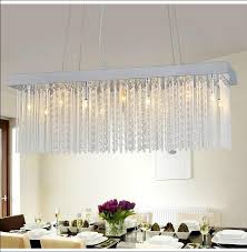 rectangle crystal chandelier toronto rectangular canada clear dining