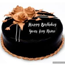 happy birthday chocolate cake with name. Exellent Birthday Truffle Chocolate Cream Birthday Cake Wishes Name Write Pictures Intended Happy With
