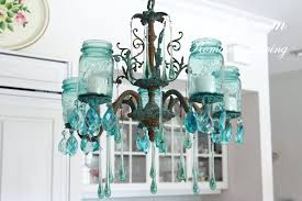 chandeliers aqua blue chandelier lamp shades aqua blue chandelier mason jar chandelier with vintage blue