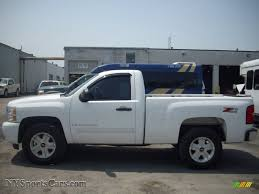 2007 Chevrolet Silverado 1500 LT Z71 Regular Cab 4x4 in Summit ...
