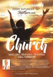 Free Church Flyer Templates Photoshop Free Church Flyer Psd Templates Download Styleflyers