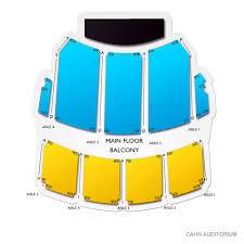 Cahn Auditorium Seating Chart Cahn Auditorium 2019 Seating Chart