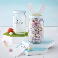 How To Decorate A Jar Personalised Decorate Your Own Easter Bunny Jar By Jodie Gaul 83