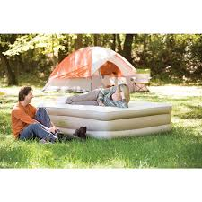 Amazon.com : Coleman Double-High SupportRest, Queen : Camping Air ...