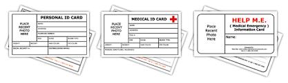 Printable Identification Card Kids Id Card Template Free Printable Template Child Id 403