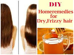 Diy Homeremedies For Dry Frizzy Hair Diy Honey Rinse For Damaged