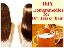 diy homeremes for dry frizzy hair diy honey rinse for damaged hair you