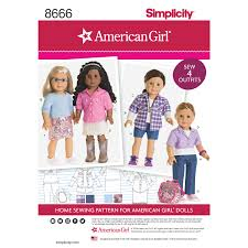 Simplicity American Girl Patterns