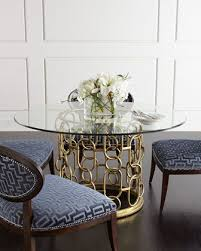 shadowbox dining chair selinda gl top dining table from bernhardt at horchow where you ll find new lower shipping on hundreds of home furnishings