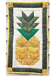 Quilting - Wall Quilts - Hospitality Pineapple Free Wall Quilt Pattern & Hospitality Pineapple Adamdwight.com