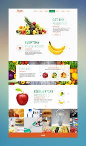 Pumpkin Web Design Preston Fresh And Nutritious Fruit Food Web Design Restaurant