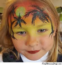 face painting simple ideas 40 easy kids face painting ideas designs for little girls free