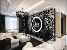 Wallpaper Living Room Designs Wallpaper Design Living Room Ideas Yes Yes Go