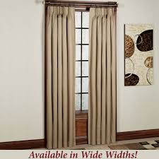 crosby pinch pleat thermal room darkening window treatments from 7 patio door curtains pinch pleat
