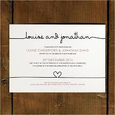 Plain White Wedding Invitations Simple And Elegant Wedding