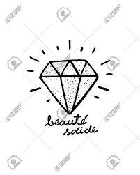 手描きイラストやダイヤモンドの図面