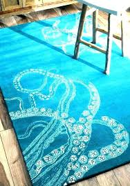 beach rug interesting themed rugs blue wool area coastal nautical house living australia