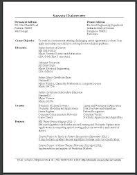 Curriculum Vitae Sample Graduate Student. Resume For Graduate School ...