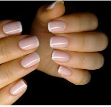 For Ashley Baby Nehty Nails White Tip Nails A Nails Only