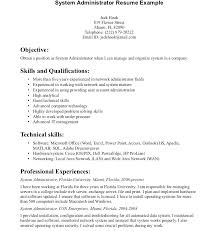 Administrator Resume Examples Windows Server Administrator Resume Sample Windows Administrator
