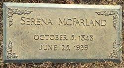 Serena Pate McFarland (1846-1939) - Find A Grave Memorial
