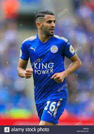 Riyad Mahrez, Leicester City Stock Photo - Alamy