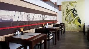 Japanese restaurant interior, stock photo