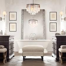 ceiling bathroom chandeliers ideas