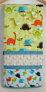 33 best Handmade Quilts for Sale images on Pinterest | Baby ... & Dinosaur Baby Quilt for Sale, 40