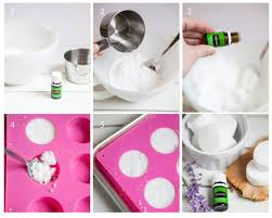 step by step directions on how to make diy aromatherapy shower steamers